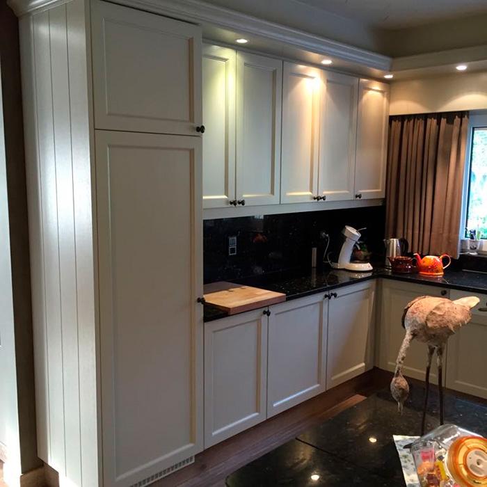 Keukenrenovatie NA nieuwe kastdeuren